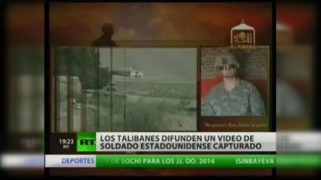 El Talibán publicó video de soldado capturado en Afganistán