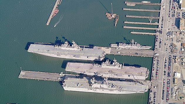 A partir de este año la flota de portaaviones de EE.UU. será vulnerable a misiles rusos