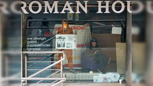 Ocupa Londres 'avisa' a los ricos de la City: no pararemos hasta que publiquen las cuentas