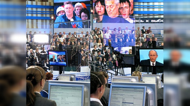 El diálogo directo de Vladímir Putin con el pueblo ruso