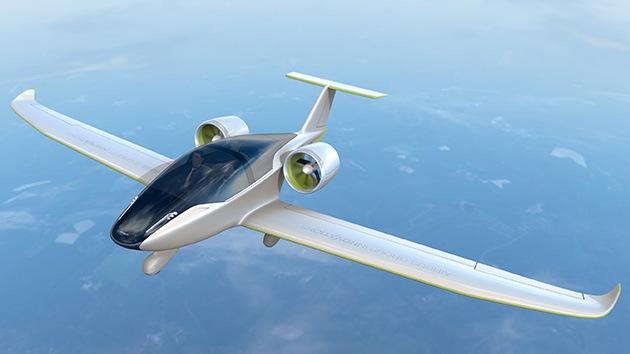 Video, fotos: El primer avión eléctrico ya vuela