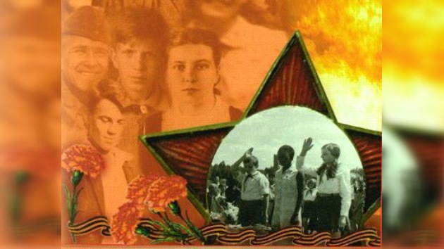 Estudiantes y combatientes. Héroes de la Casa Internacional de la URSS