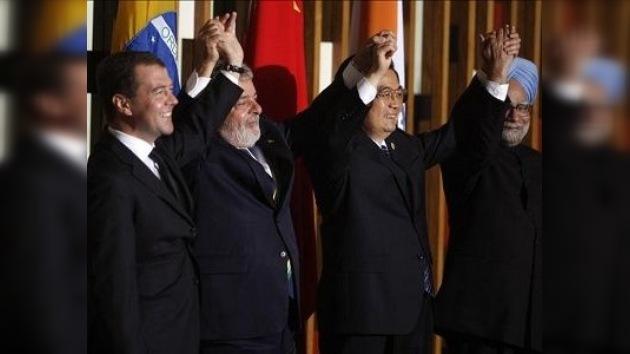 El grupo BRIC, nuevo motor de la recuperación económica mundial
