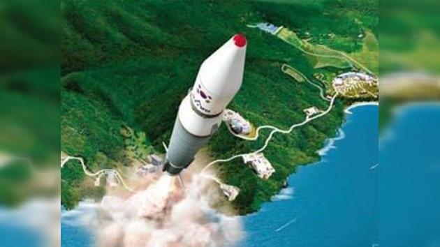 Corea del Sur pierde comunicación con cohete portador