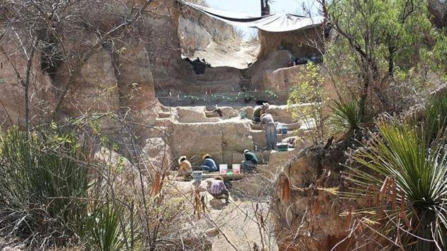 Hallan huellas de fauna y hombres prehistóricos en México