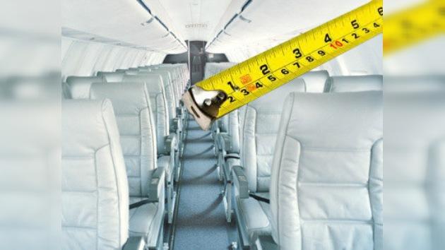 Sentenciada una aerolínea brasileña a aumentar el espacio entre asientos