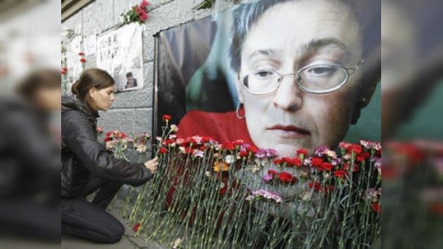 Detienen al presunto asesino de la periodista rusa Anna Politkóvskaya