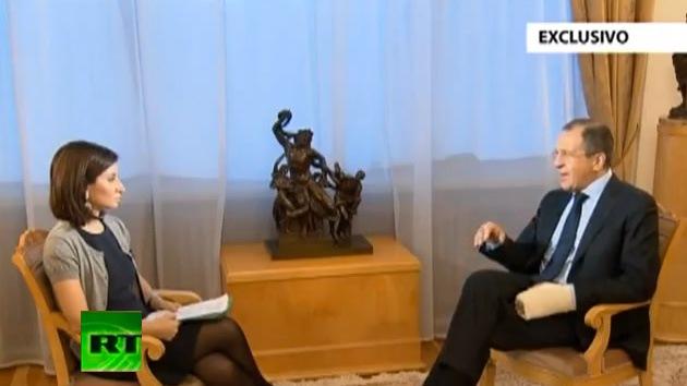Versión completa de la entrevista de RT a Serguéi Lavrov