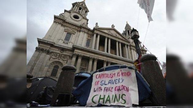 Los 'indignados' de Londres no planean rendirse