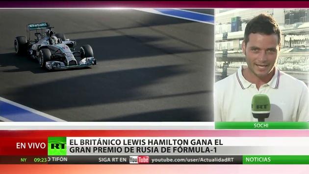 El británico Lewis Hamilton gana el Gran Premio de Rusia de Fórmula1