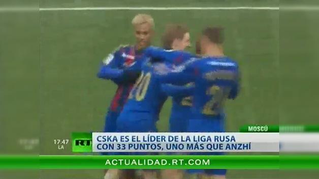 CSKA derrota a Lokomotiv y lidera la Liga Premier Rusa
