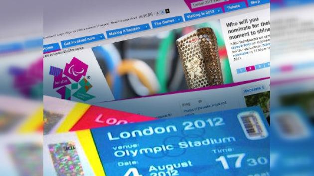 Colapsa la web de venta de entradas para las Olimpiadas de Londres 2012