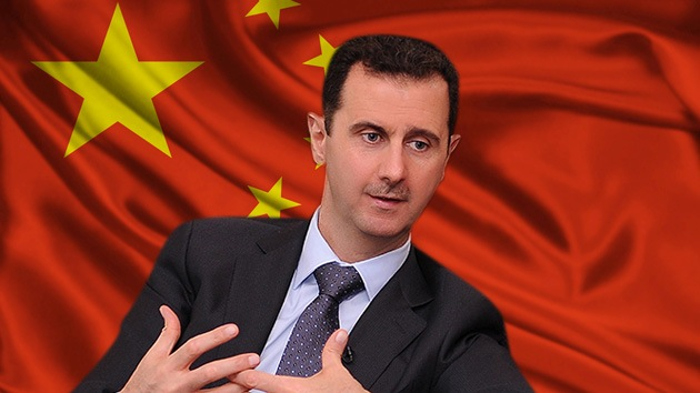 Assad intenta resolver el conflicto sirio con ayuda de China
