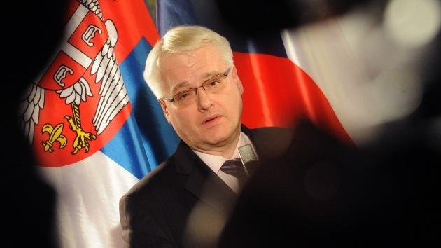 El presidente croata se queda atascado en un ascensor por 30 minutos