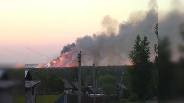 Medvédev encomienda al ministro de Defensa investigar el incendio en Udmurtia