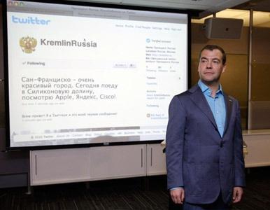 Medvédev ya tiene más de 100.000 seguidores en Twitter