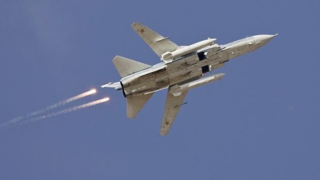 Las autodefensas aseguran haber derribado un cazabombardero ucraniano Su-24