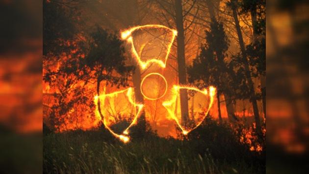 Los incendios alcanzan las zonas contaminadas por sustancias radioactivas