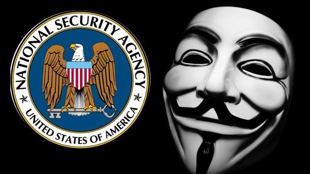 Anonymous publica datos privados de los directivos de la NSA