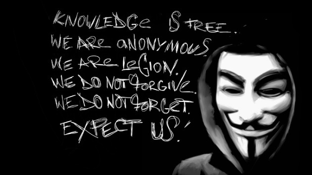 Su PC a cambio de dinero: 'Hackers' se hacen pasar por Anonymous y exigen rescate