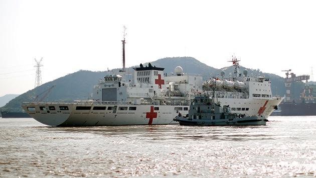 Cuatro buques de China se unen por primera vez al mayor ejercicio naval de EE.UU.