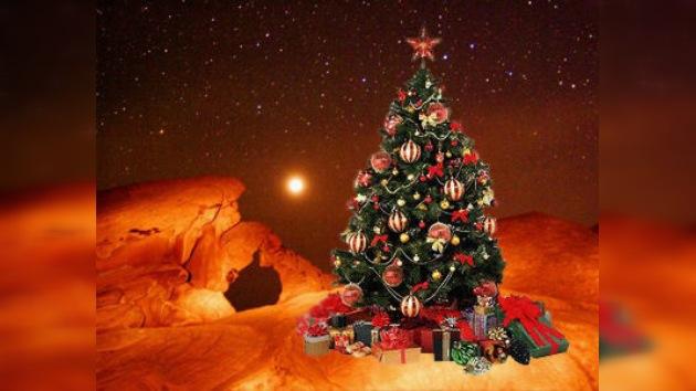 Los tripulantes de 'Mars 500' dan la bienvenida al Año Nuevo