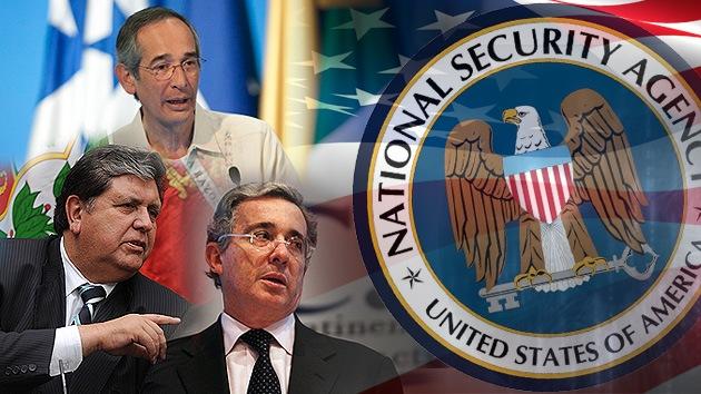 122 líderes mundiales, entre ellos los de Colombia, Perú y Guatemala, bajo la lupa de la NSA