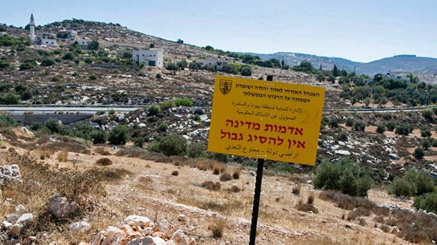 Israel quiere confiscar unas 1.300 hectáreas palestinas para 'propósitos militares'
