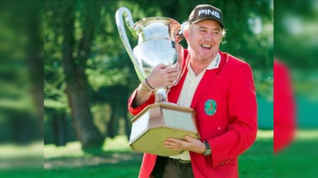 El español Miguel Ángel Jiménez conquista el Masters Europeo de golf