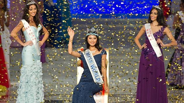 Video: La china Yu Wenxia se corona Miss Mundo 2012