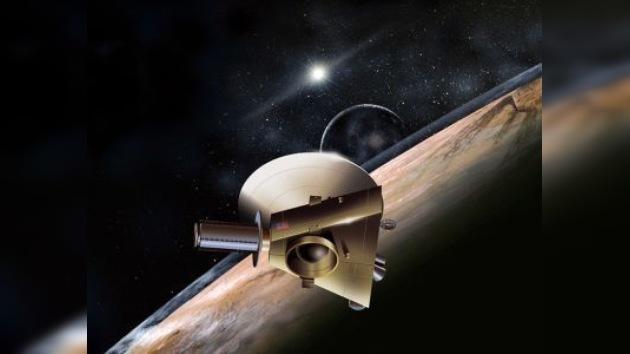 La sonda espacial con destino a Plutón recorrió la mitad del camino