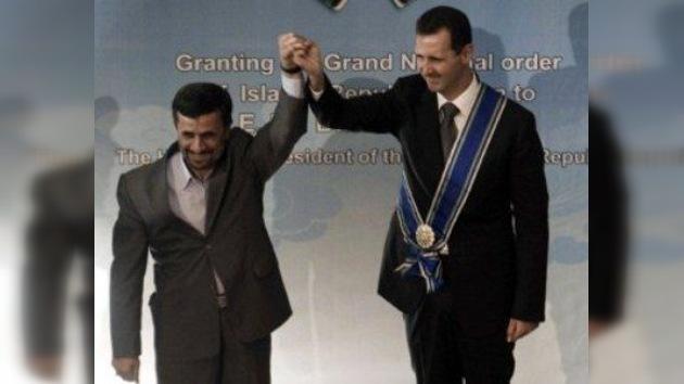 Irán 'alivia' la presión de las sanciones económicas a Siria