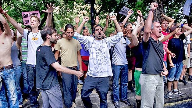 El sociólogo Manuel Castells: 70% de los españoles apoyan las protestas de los 'indignados'
