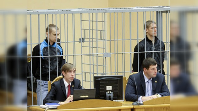 El acusado del atentado en el metro de Minsk reconoce su culpabilidad
