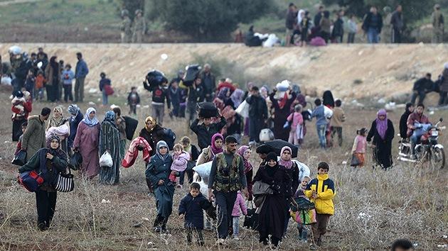 Los activistas de derechos humanos, preocupados por la situación de los refugiados sirios