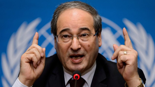 """Vicecanciller sirio: """"Occidente será responsable del fracaso de Ginebra 2"""""""