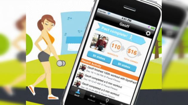 Nuevo servicio de iPhone: si faltas al gimnasio, pagarás por ello