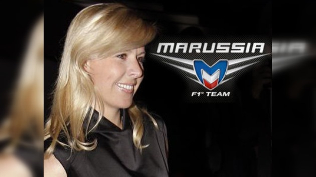 Marussia ficha a la española De Villota como piloto de pruebas