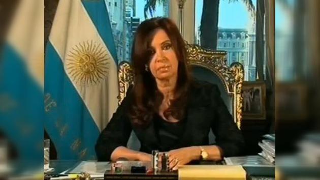 Cristina Fernández de Kirchner se dirige a la nación agradeciendo su apoyo