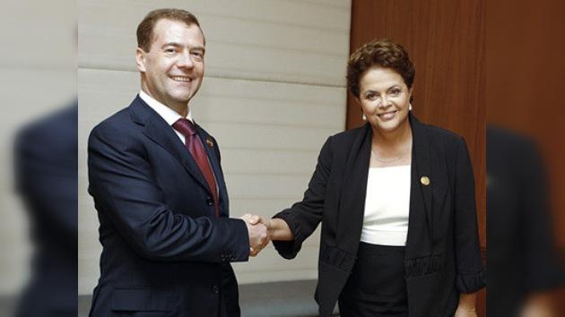Rusia y Brasil alaban el diálogo económico entre los países