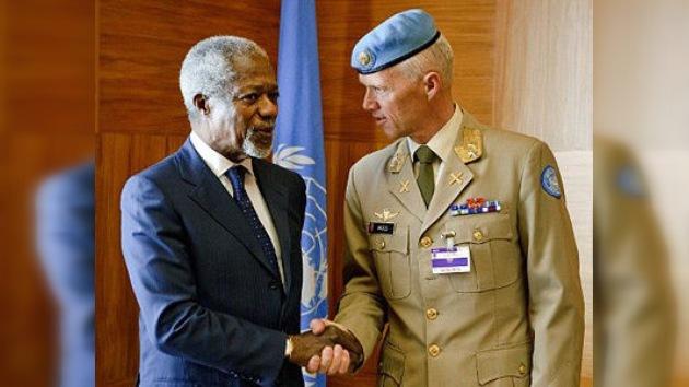 El nuevo jefe de la misión de observadores de la ONU llega a Siria