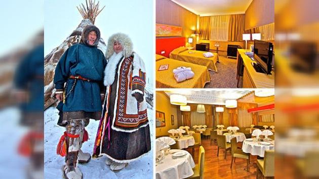 Inauguran un hotel ruso de lujo en el Círculo Polar