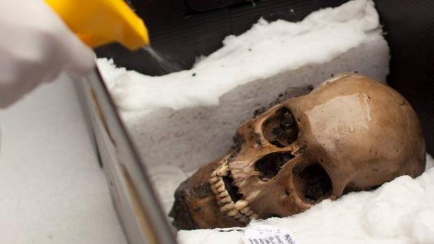Un depósito con 50 cráneos prehispánicos, hallazgo brutal en un templo azteca