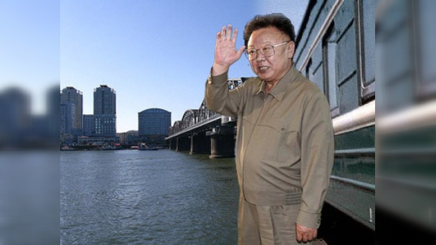 El tren del presidente norcoreano llegó a China