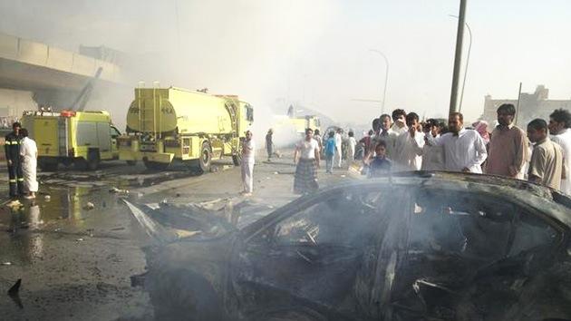 Fotos: Explosión deja decenas de víctimas en Arabia Saudita