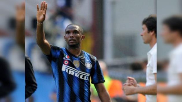 Eto'o se plantea dejar el Inter para fichar por el Anzhí