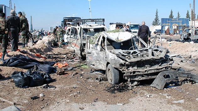 Siria: La explosión de un coche bomba deja al menos 20 muertos en una mezquita