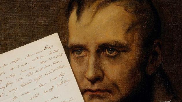 Subastan una carta manuscrita de Napoleón en inglés