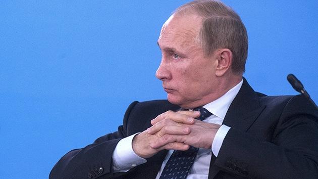 """Putin: """"La OTAN no cesa de intentar romper el equilibrio mundial aumentando su arsenal militar"""""""