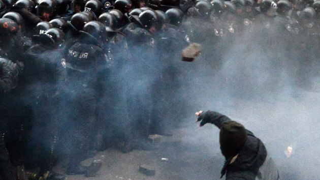 Minuto a minuto: Ucrania, dividida por las protestas
